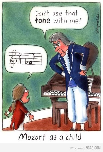 Mozart Cartoon