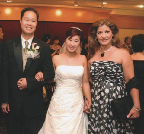 The Happy Couple! Gabriel Ng (groom), Corinna Lee (bride), Mrs. S.