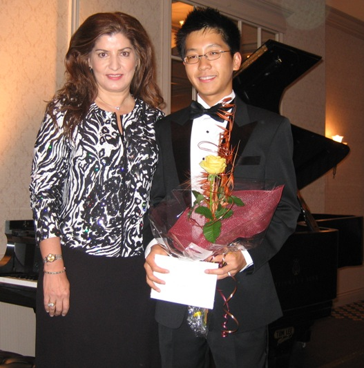 Kenneth Lee - Represented Richmond for 2008 BC Piano Competition (First time Richmond was represented in over 20 years!)